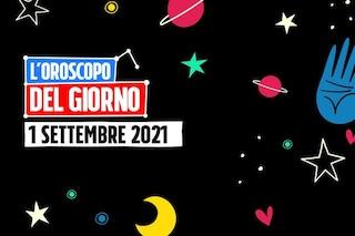 L'oroscopo di mercoledì 1 settembre 2021: Cancro e Pesci scoppiettano