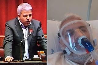 """L'ex deputato non vaccinato in ospedale per Covid: """"Ho sbagliato ora ne pago le conseguenze"""""""