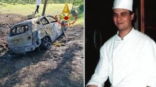 Tragico schianto a poca distanza dal suo ristorante, lo chef Simone muore carbonizzato in auto