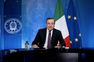 """Draghi: """"Enormi diseguaglianze nell'accesso ai vaccini, G20 faccia di più per aiutare Paesi poveri"""""""