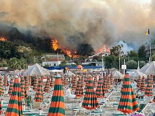 Tre punti di innesco, probabile origine dolosa: aperta un'inchiesta sugli incendi di Pescara