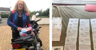 Nonna riceve decine di multe per eccesso di velocità ma la sua moto non è mai uscita dal quartiere