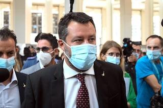 """Green Pass obbligatorio sul lavoro, Salvini: """"Ha senso solo se a contatto con il pubblico"""""""