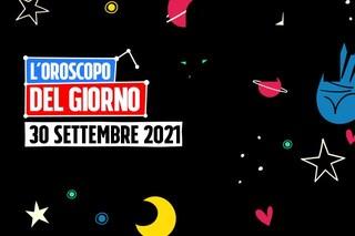 L'oroscopo di giovedì 30 settembre 2021, previsioni segno per segno: segreti che scappano a Cancro e Capricorno