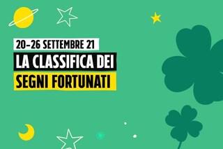 Oroscopo, la classifica dei segni più fortunati della settimana dal 20 al 26 settembre: Bilancia e Acquario festaioli