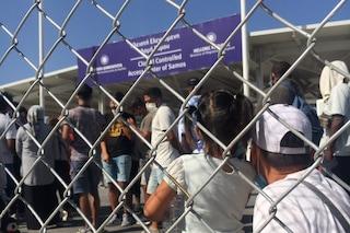 """Profughi afghani nell'hotspot di Samos: """"Sembra una prigione, ingressi e uscite contingentati"""""""
