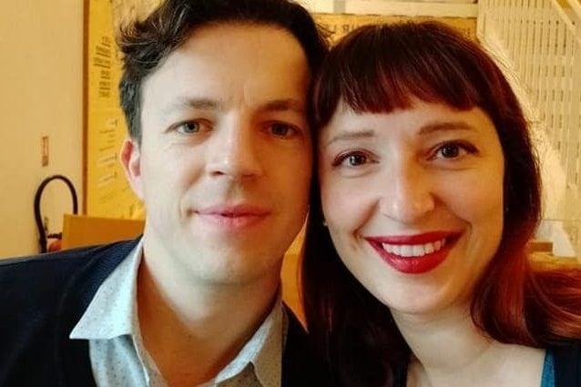 Federico Lugato e Elena Panciera