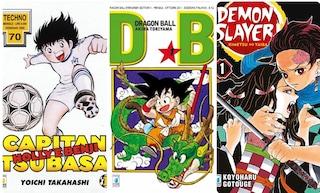 Holly e Benji, Dragon Ball, Goldrake e Demon Slayer: come i manga hanno cresciuto gli italiani