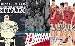 """Pallacanestro, cimiteri, riti satanici e giganti: 5 manga non proprio """"per ragazzi"""""""