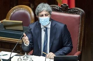 """Green Pass per deputati e senatori, il presidente Fico: """"Sarà obbligatorio anche in Parlamento"""""""