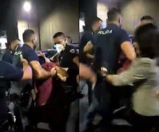 Protesta no vax in chiesa a Pescara, in 20 si abbassano la mascherina: scoppia il caos, un arresto