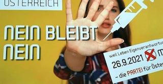 Il partito no vax austriaco ha preso il 6% alle elezioni ed entra nell'Assemblea in Alta Austria