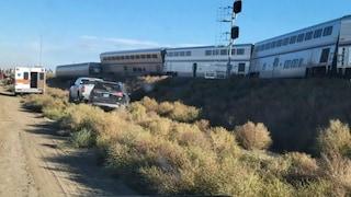 USA, deraglia treno ad alta velocità: tre morti e 50 feriti