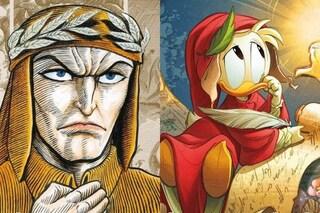 5 storie a fumetti su Dante e la Divina Commedia: da Topolino ai manga