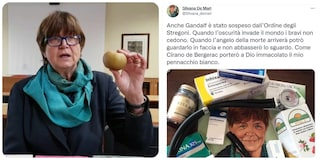 """La no vax Silvana De Mari: """"Anche Gandalf è stato sospeso dall'Ordine degli Stregoni"""""""