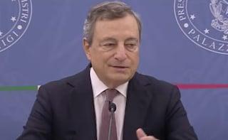 """Fisco, Draghi: """"Non tasseremo la prima casa, con riforma del catasto nessuno pagherà di più"""""""