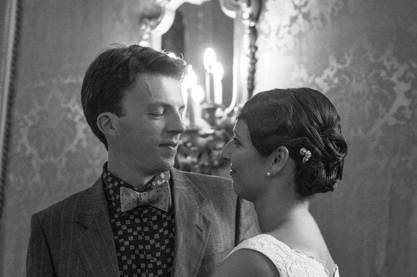 Federico Lugato e la moglie Elena Panciera il giorno del matrimonio