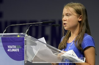 """Youth4Climate, Greta Thunberg ai leader mondiali: """"Per 30 anni solo politiche di bla bla bla"""""""