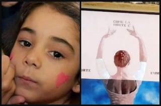 """Palermo, il murales per Giulia, morta in un incidente a 6 anni: """"Così mia figlia vivrà per sempre"""""""