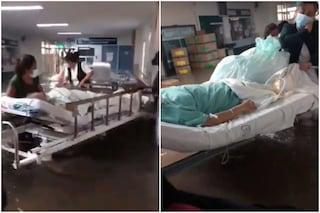 Piogge e inondazioni in Messico, straripa il fiume Tula: 16 persone muoiono nell'ospedale allagato