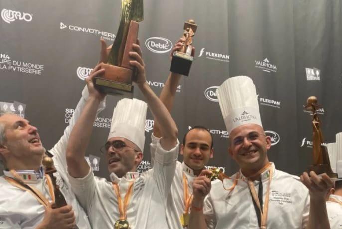 L'Italia ha vinto il campionato del mondo di pasticceria