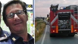 Schianto mentre rientra dopo una giornata di lavoro, l'agente di polizia Gianluca muore sul colpo