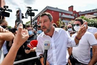 Salvini dice che la Lega resterà nel governo, ma sarà sempre contraria all'obbligo vaccinale