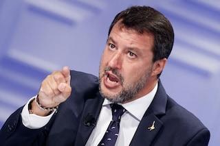 """Salvini dice che contro la Lega è partito un """"attacco indegno di un Paese civile"""""""