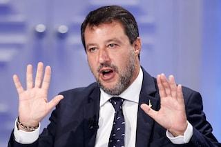 Salvini dice che per prevenire il contagio nelle scuole e sul lavoro il tampone è meglio del vaccino