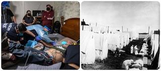 """USA, il Covid-19 ha ucciso più americani dell'epidemia di influenza """"Spagnola"""" del 1918"""