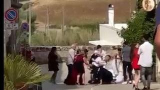 Lecce. Rissa durante il matrimonio, testimone avrebbe molestato la sposa: è accusato di stupro