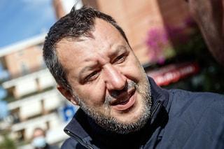 """Cgil in piazza, Salvini: """"Sinistra fa campagna elettorale inseguendo fascisti che non ci sono più"""""""