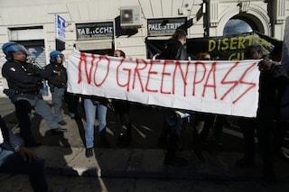 No Green pass tornano in piazza, due cortei a Roma: nuovo presidio a Trieste
