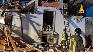 Esplode palazzina in provincia di Cuneo: grave una persona