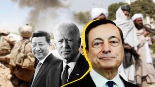 """G20 Afghanistan, Draghi: """"Crisi umanitaria catastrofica, su sostegno alla popolazione agiamo uniti"""""""