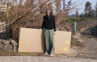 L'artista sudcoreana che ha trascorso 30 anni a lavorare sullo stesso dipinto