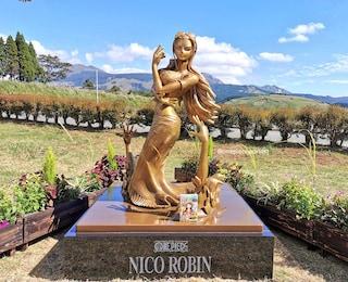 In Giappone hanno dedicato una statua a Nico Robin, una delle protagoniste di One Piece