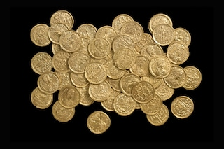 Sono stati ritrovati 15 chili di monete romane durante uno scavo in Germania