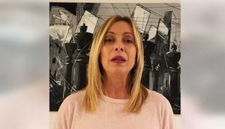 """Meloni su inchiesta Fanpage.it: """"Tutto studiato, diamo fastidio ai poteri forti"""""""