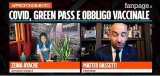 """Bassetti: """"No al Green Pass col tampone, non è sicuro. Vaccino unica soluzione contro il Covid"""""""