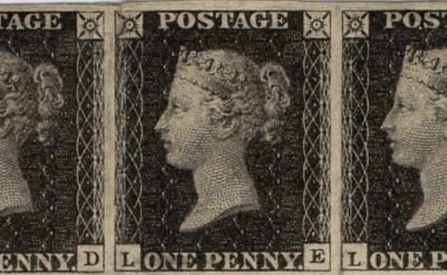 All'asta il primo francobollo della storia, il famoso Penny Black in vendita a 6 milioni di sterline
