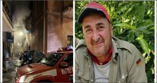Catania, a fuoco un appartamento: muore un uomo di 51 anni, la moglie salvata dai poliziotti