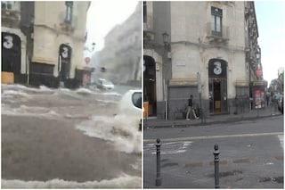 Le immagini di Catania prima e dopo l'alluvione. La regione Sicilia dichiara lo stato di emergenza