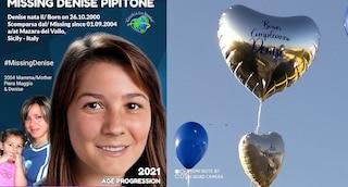 """Denise Pipitone, palloncini a Mazara per il suo 21esimo compleanno: """"Sei nel cuore e nella mente"""""""