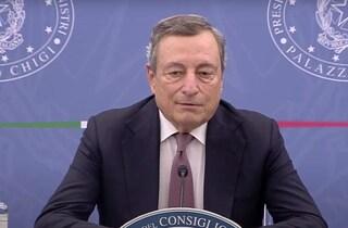"""Via libera del governo a delega fiscale, Draghi: """"Salvini ci spiegherà perché Lega ha disertato Cdm"""""""