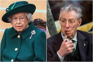 """La Regina Elisabetta ha scritto a Umberto Bossi: """"Grata per il tuo affetto dopo la morte di Filippo"""""""