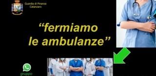 """Medici del 118 si fingevano malati durante il lockdown per l'indennità: """"Blocchiamo le ambulanze"""""""