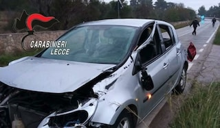 In auto contro muro della discoteca: muore 20enne a Lecce, conducente positivo ad alcol test