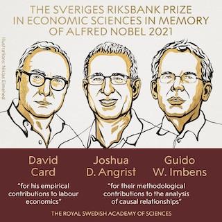Il Premio Nobel per l'economia 2021 a Card, Angrist e Imbens