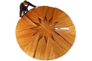 Fletcher Capstan Table, il tavolo che si espande in soli 4 secondi